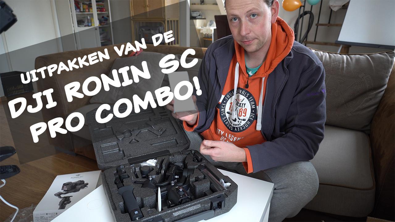 Thumbnail DJI Ronin SC Pro uitpakken